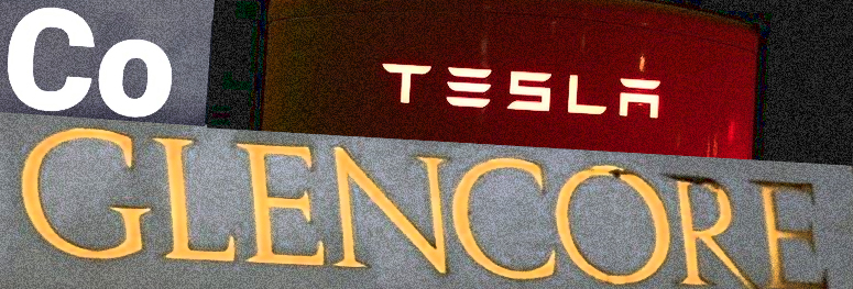 Tesla ostaa Glencorelta kobolttia Kongosta