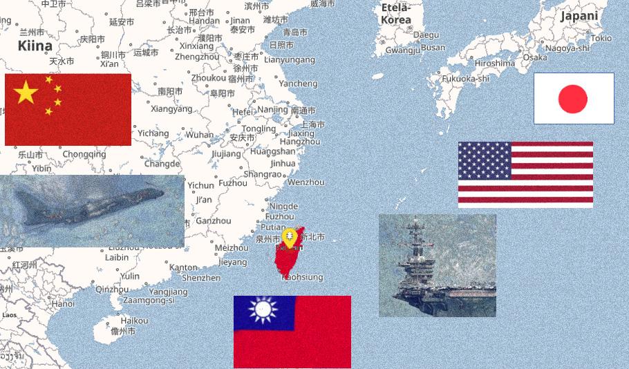 Tiukkaa spekulaatiota Taiwanista
